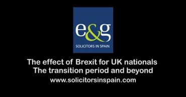 A guide outlining the effect of Brexit on the position of UK nationals in Spain, throughout the transition period and beyond.