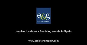 Insolvent estates - realising assets in Spain